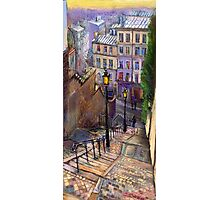 Paris Montmartre Photographic Print