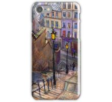 Paris Montmartre iPhone Case/Skin