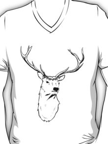 Stag Flower Crown T-Shirt