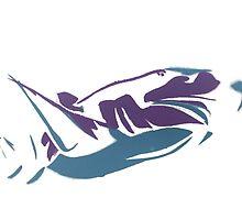 Retro Shark by MasseysArt