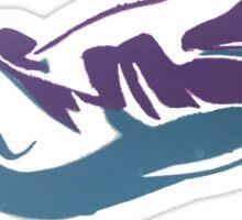 Retro Shark Sticker