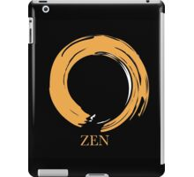 7 DAY'S OF SUMMER-YOGA ZEN RANGE- ORANGE ENSO iPad Case/Skin