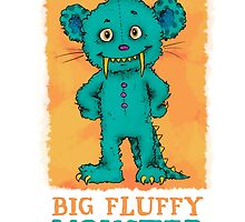 Big Fluffy Monster by mauric
