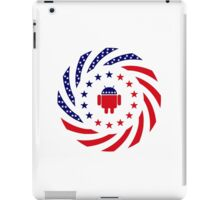 Android Murican Patriot Flag Series iPad Case/Skin