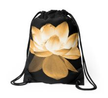 7 DAY'S OF SUMMER-YOGA ZEN RANGE- ORANGE LOTUS Drawstring Bag