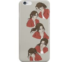 Red survivor- Zoey iPhone Case/Skin