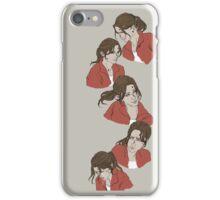 Red survivor- Zoey iPhone Case/Skin