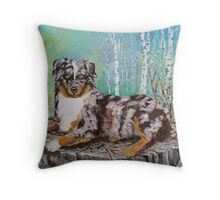 Pretty as a Mountain Flower Throw Pillow