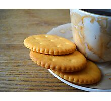 Coffee and Cookies. Photographic Print