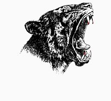 Roaring Saber-Toothed Tiger, Drawing Unisex T-Shirt
