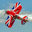 """The Muscle Biplane"" on the Knife-edge by Colin Smedley"