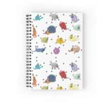 Bad manners.... Spiral Notebook