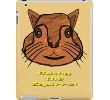 Bushy the Squirrel T-shirt, etc. design iPad Case/Skin