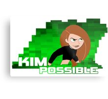 Kim Possible  Metal Print