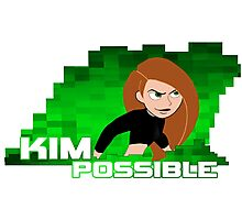 Kim Possible  Photographic Print