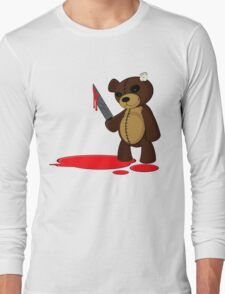 Psycho Teddy Long Sleeve T-Shirt