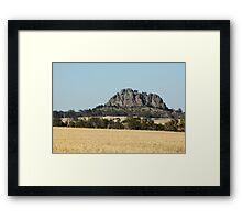 Mt. Arapilies Framed Print