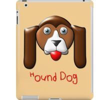A Young Hound Dog T-shirt, etc. design iPad Case/Skin