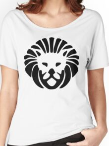 King Lion Head, Symbol Design Women's Relaxed Fit T-Shirt