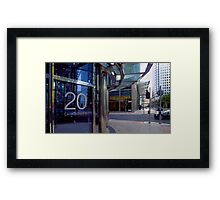 London - 20 Canada Square, Canary Wharf Framed Print