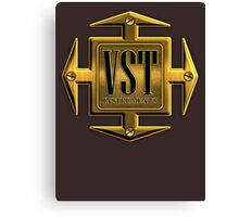 VST Instruments Gold Cross Canvas Print