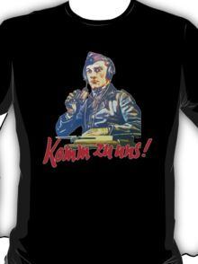 PANZER COMMANDER - COME WITH US T-Shirt