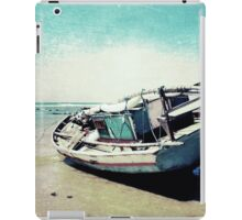 Waiting for the tide iPad Case/Skin