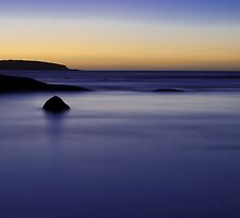Blue Haze - Browns Beach, Innes National Park, Yorke Peninsula, South Australia. by Michelle Singleton