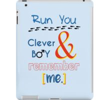 Doctor Who Clara and Eleven iPad Case/Skin
