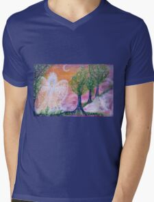 Garden of delight Mens V-Neck T-Shirt