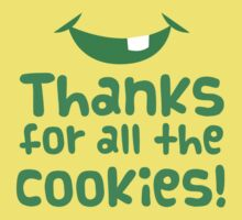 Thanks for all the cookies Kids Tee
