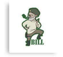 """mini William """"Bill"""" Overback Canvas Print"""