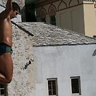 Diver in Mostar by erwina