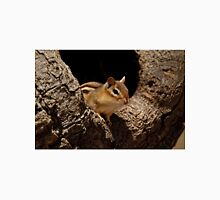 Chipmunk in tree hole - Ottawa, Ontario T-Shirt