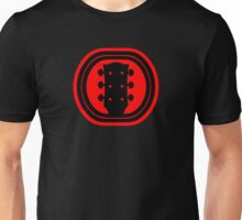Guitar Headstock Unisex T-Shirt