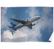 HBA Boeing 767 - Outbound O.R.T. Poster