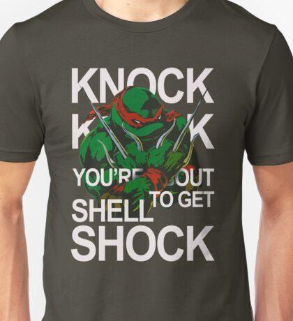 TMNT - Raphael Knock Knock Unisex T-Shirt