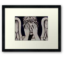Peekaboo Framed Print