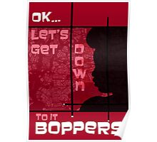 Boppers - Red Poster