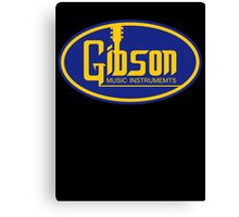 Gibson Music Instruments  Canvas Print