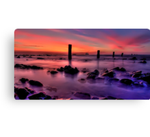 Silent Seascape Canvas Print