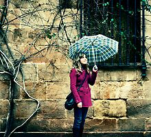 Smiling in the Rain by TaniaLosada