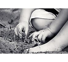 Little Fingers  Photographic Print