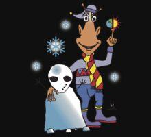 alien snowman Kids Tee