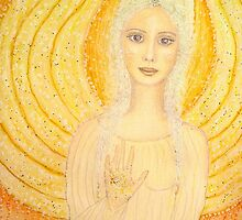 Angel of the Golden Ray by Lilaviolet
