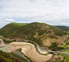 Lorne from above by Mili Wijeratne