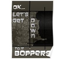 Boppers - Army Poster