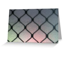 Crystalline Cage Greeting Card