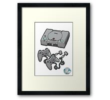 Videogame console Framed Print