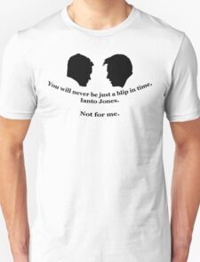 Janto Slash Print (black) Unisex T-Shirt